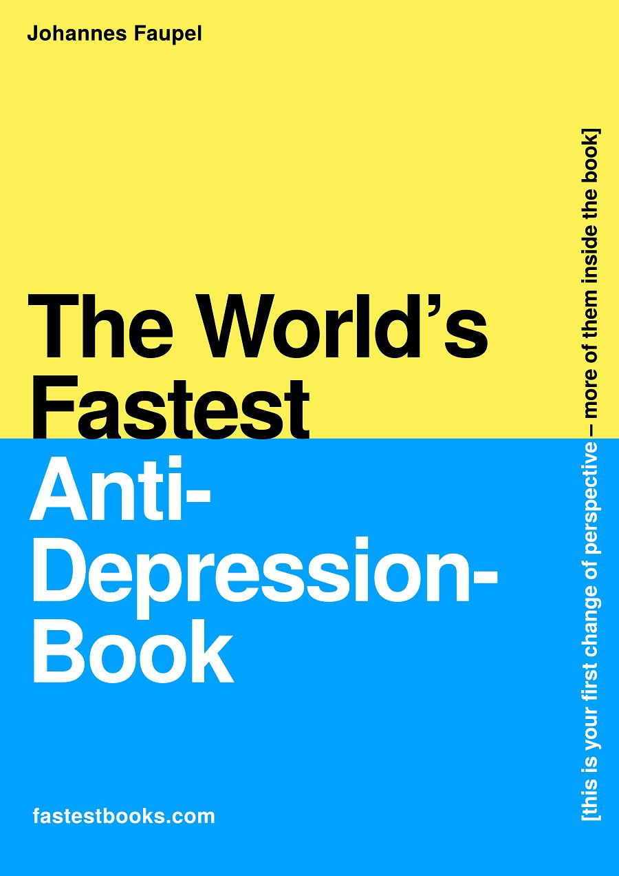 Fastest Depression Book in the world